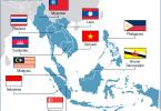 ASEAN-Member-map