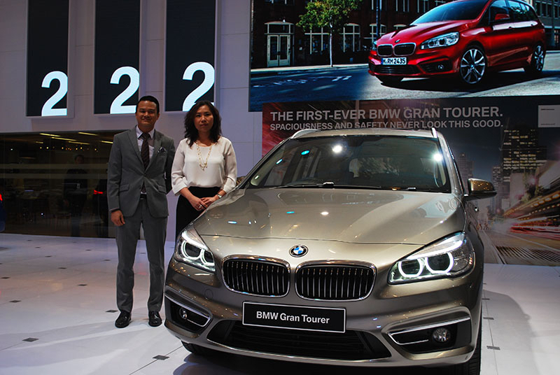 BMW launching
