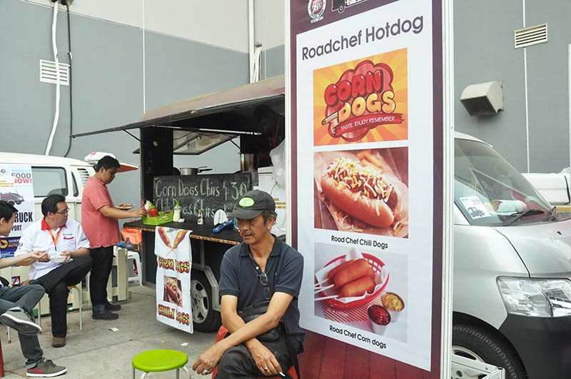 Food Trucks Satisfying Eateries and Drinks at GIIAS 2015