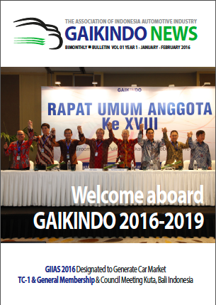 Welcome abroad gaikindo 2016-2019