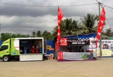 Posko Mudik Hino Foto: mobilwow.com